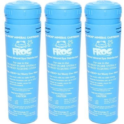 King Technology Spa Frog Mineral Cartridge 01-14-3812 - 3 Pack