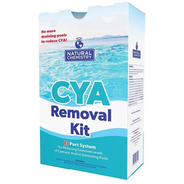 Natural Chemistry CYA Cyanuric Acid Reducer Removal Kit 07431 17431NCM