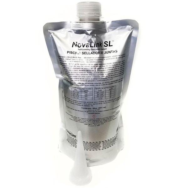 NovaLink SL Pool Deck Self-Leveling Sealant Gray 68oz. F1239GR