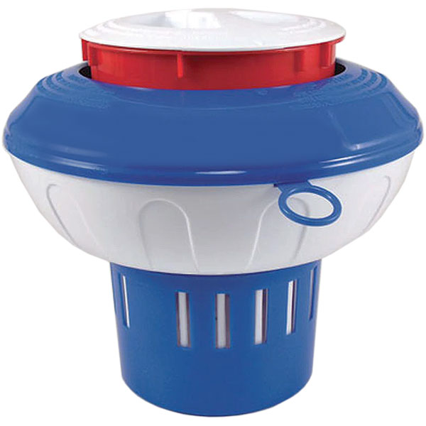 Oreq 3 in. Pool Chlorine Pop-Up Tablet Feeder Floater CL296ABWS