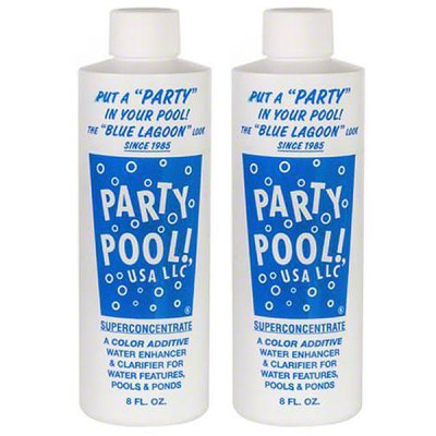 Party Pool Color Additive Blue Lagoon 8oz 47016-00008 - 2 Pack