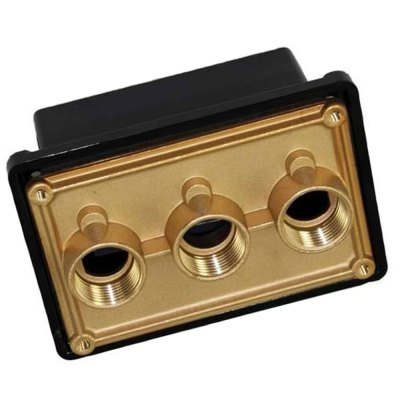 Pentair Junction Box Brasss J-Box 0.75 in. Pool Light 78310600