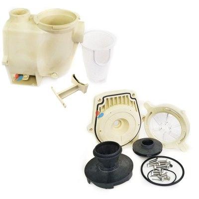 Pentair WFE-6 1-1/2 HP WhisperFlo Pump Wet Fluid End  075454
