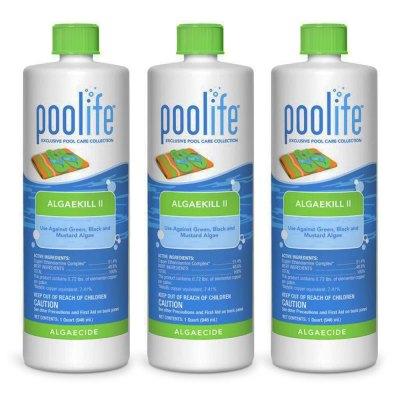 Poolife AlgaeKill II Swimming Pool Algaecide 62070 - 3 Pack