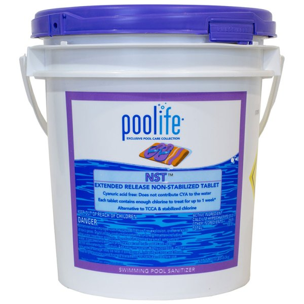 Poolife Nst Non Stabilized Swimming Pool Chlorine Tablet