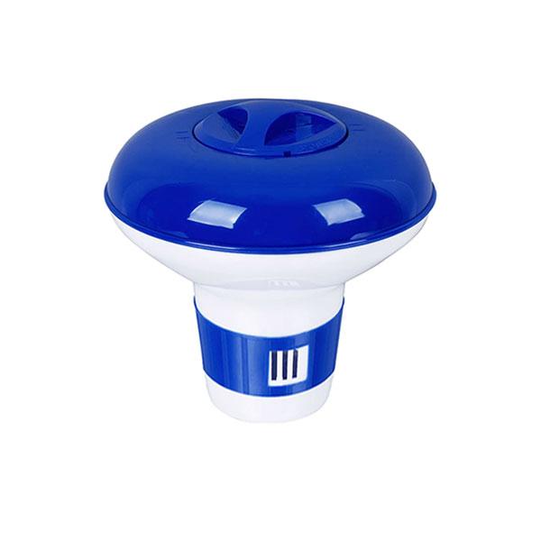 Pooline 1 in. Pool Chlorine Tablet Feeder Floater Dispenser 11033