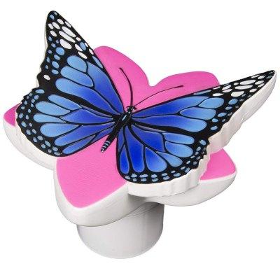 PoolMaster Blue Butterfly 3 in. Pool Chlorine Tablet Feeder  32129