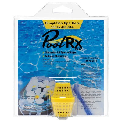 PoolRx Yellow 100-400 Gal. Small Spa Unit 101057