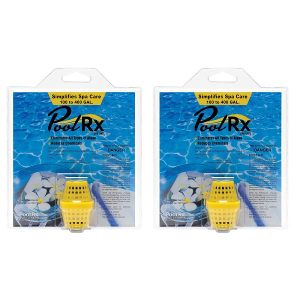 PoolRx Yellow 100-400 Gal. Small Spa Unit 101057 - 2 Pack
