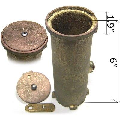 S.R. Smith 6 inches Bronze Anchor AS-100D