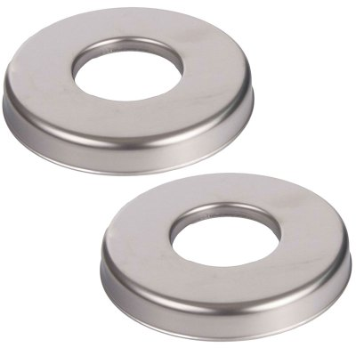 S.R. Smith Round Escutcheon 25572-100-000 EP-100F - 2 Pack