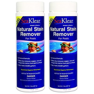 SeaKlear Natural Stain Remover 2lb 90572 1110014 - 2 Pack