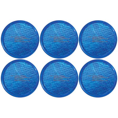 Solar Sun Rings Plain Blue Water Anchors 5ft. OD SSRA-BL-02 - 6 Pack