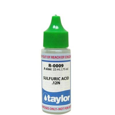 Taylor Dropper Bottle 0.75 oz Sulfuric Acid 12N R-0009-A