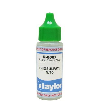 Taylor Dropper Bottle 0.75 oz Thiosulfate N/10 R-0007-A
