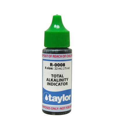Taylor Dropper Bottle 0.75 oz Total Alkalinity Indicator R-0008-A
