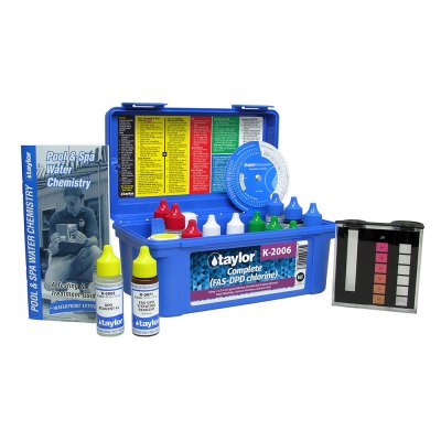 Taylor Technologies Pool & Spa Water Complete Test Kit K-2006