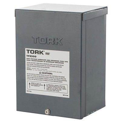 Tork Pool Light Transformer 300W 120VAC To 12V 13V 14V TPX300