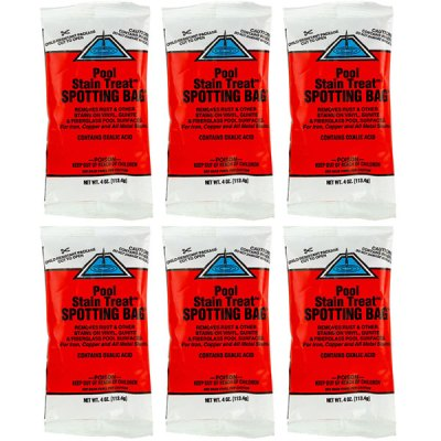 United Chemical Pool Stain Treat Spotting Bag PST-C24 - 6 Pack