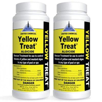 United Chemical Yellow Treat Algaecide 2lb. YT-C12 - 2 Pack
