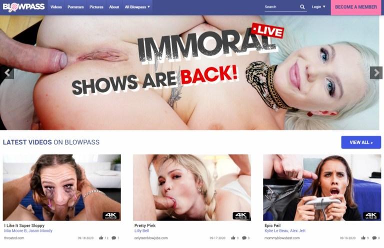 Blowpass - Best Premium Porn Sites