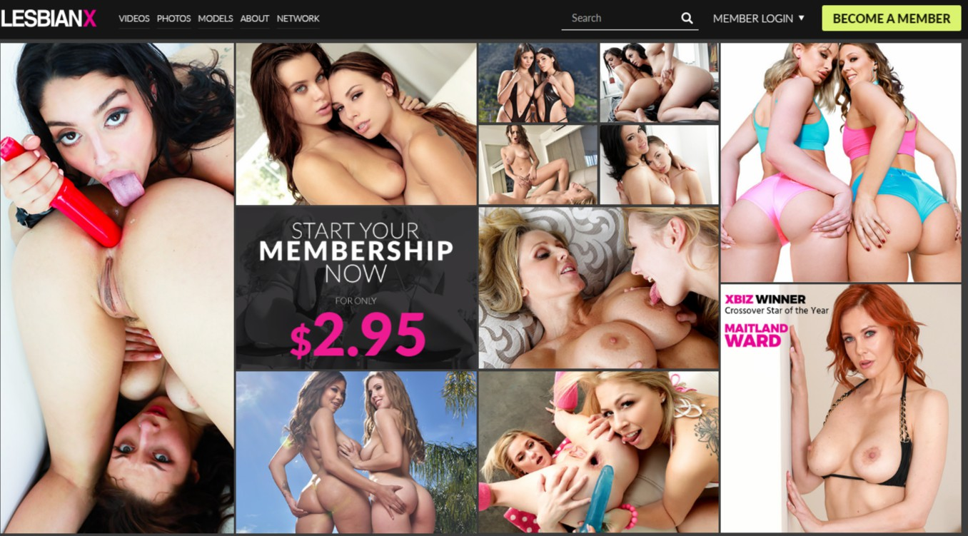 LesbianX - Best Premium Lesbian Porn sites