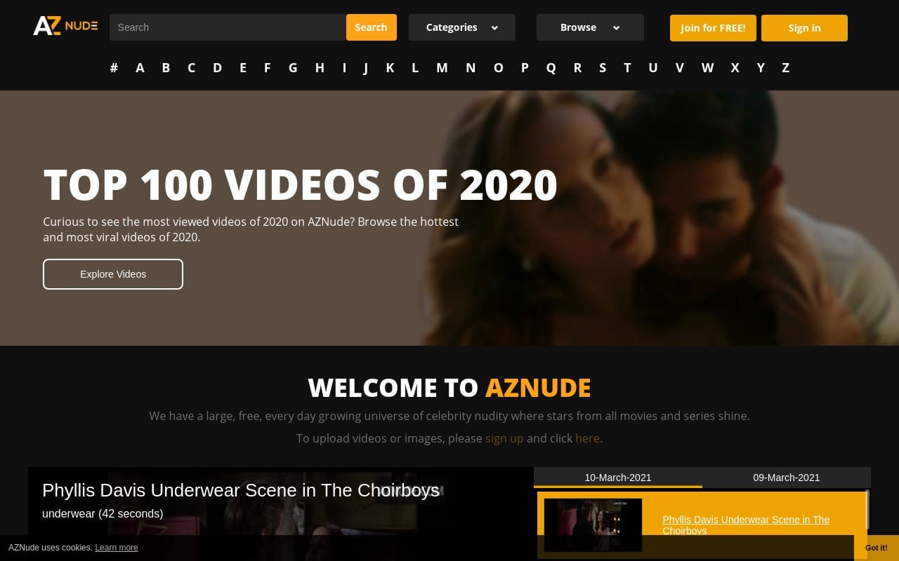 Aznude - Best