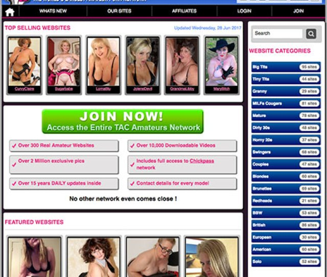 One Of The Biggest Amateur Adult Networks Offering Over 300 Homemade Sex Sites Packed Full Of Smoking Hot Amateur Porn Clips So Dont Miss Out
