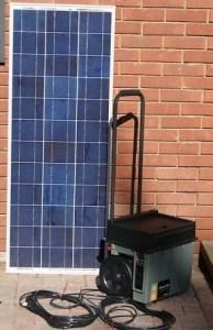 Portable Solar Generator Plug N Play 100Watt Solar Panel