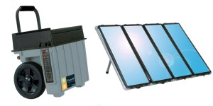 Xantrex 1500W Powerpack with Sunforce Solar Kit