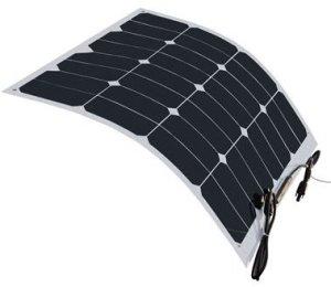 HQST 50 Watt 12 Volt Monocrystalline Lightweight Solar Panel