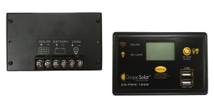 grape solar 165w solar charge controller