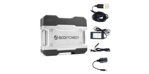 AcoPower 111Wh Portable Solar System