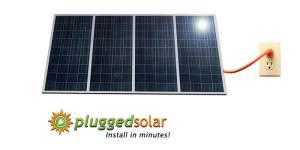 pluggedsolar 1.74 KW Solar Power Generator