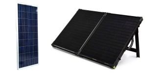 Kohler 100W Solar Panel Vs Goal Zero Boulder 100 Briefcase
