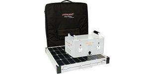 solar pod portable solar generator