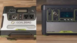Goal Zero Yeti 400 Vs Yeti 400 Lithium
