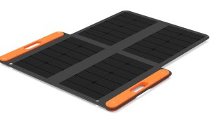 Jackery 100W solar panel for camping
