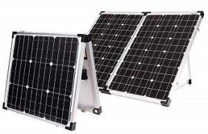 Go Power 120-Watt Folding Portable Solar Kit
