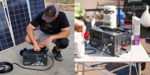 Inergy Apex Solar Power Generator
