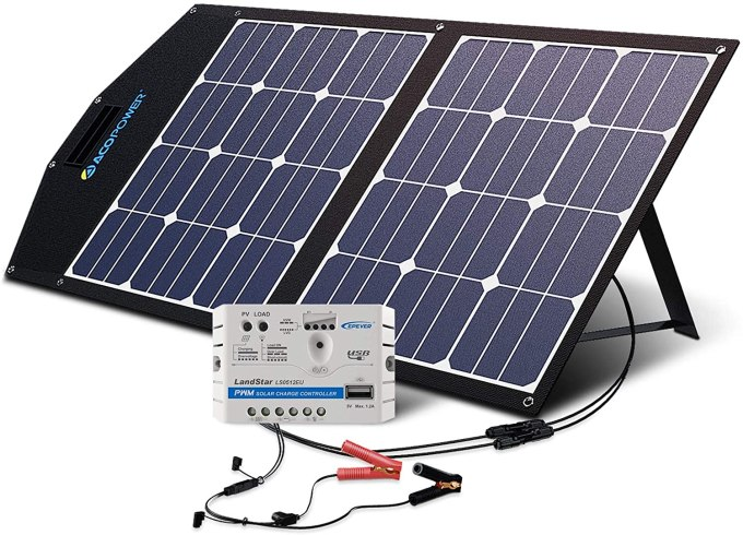 Acopower 70w Foldable Solar Panel Kit Portable Solar Power