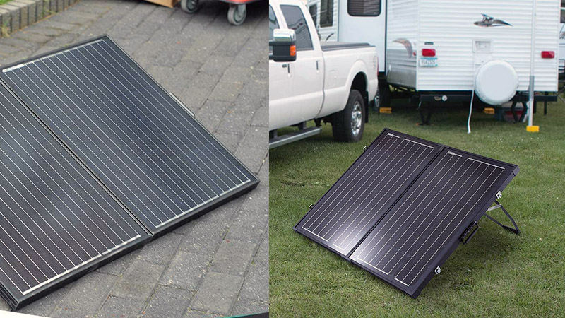 Briefcase Solar Panels for Caravans and RVs