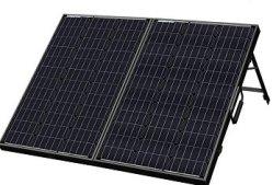 ECO-WORTHY 120W FOLDING SOLAR PANEL SUITCASE