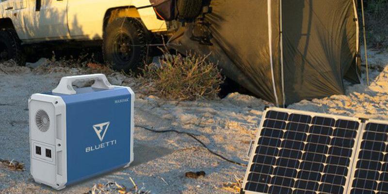 Maxoak Bluetti 1500Wh Solar Generator