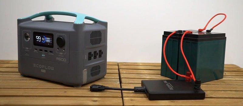 EcoFlow R600 Solar Generator