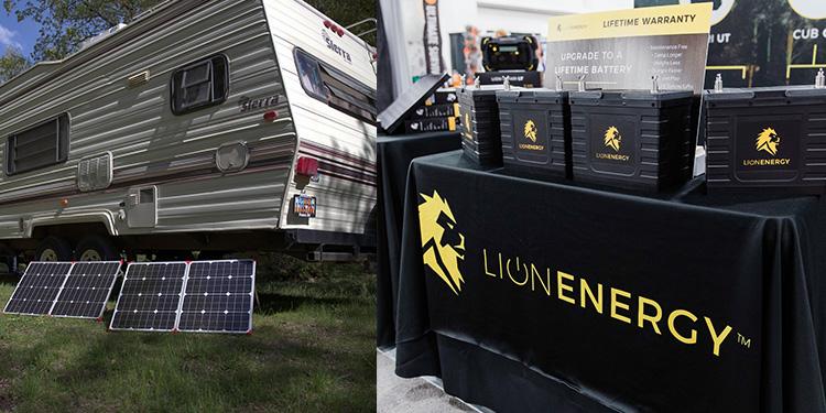 Lion Energy Solar Power Kits