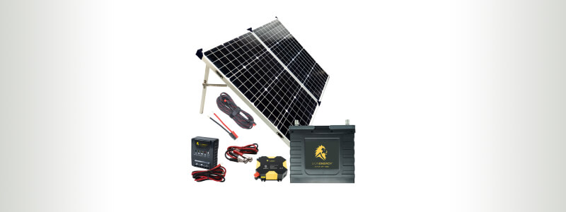 LION ENERGY 400W BEGINNER DIY SOLAR PANEL KIT