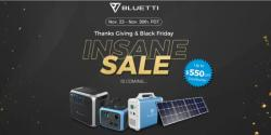 Bluetti Black Friday Deals 2020: Up to $550 Off on Bluetti Power Stations and Solar Panels