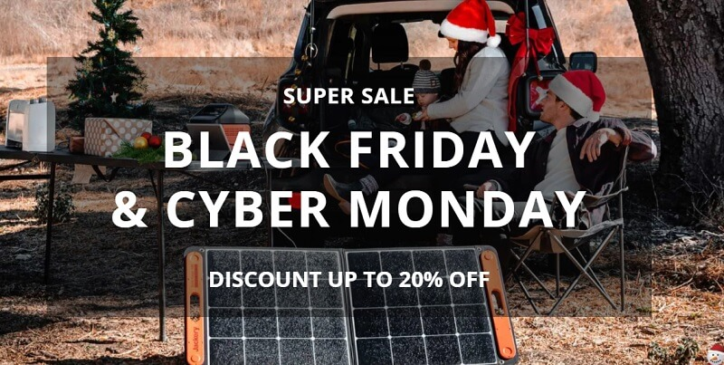 Jackery Black Friday Sale
