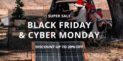 Jackery Black Friday Sale: Up to 20% Discount on Explorer Power Stations and Chargers